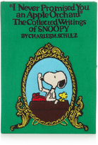 Olympia Le-Tan Snoopy Apple Orchard book clutch