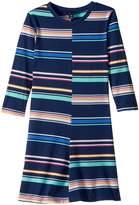 Tommy Hilfiger Yarn-Dye Multi-Stripe Split Dress Girl's Dress