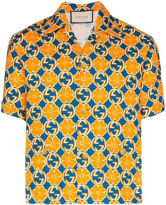 Gucci Logo Print Shirt