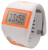 o.d.m. Unisex DD99B-84 Mysterious V Series White and Orange Programmable Digital Watch