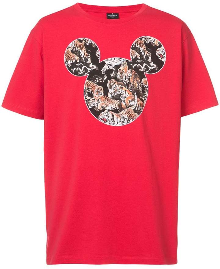 Marcelo Burlon County of Milan Mickey Mouse Tigers T-shirt