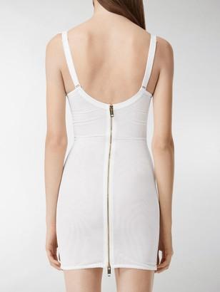 Burberry Lace Detail Corset Dress