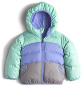 The North Face 'Moondoggy' Reversible Down Jacket (Toddler Girls & Little Girls)
