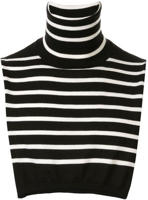 TAKAHIROMIYASHITA TheSoloist. Striped Wool Cropped Top