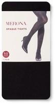 Merona Women's Tights 50D Black Opaque 1X