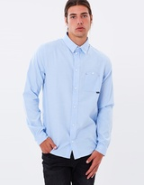 King Apparel Oxford Perf Shirt Blue Oxford