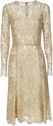 Dolce & Gabbana Lace Floral Dress