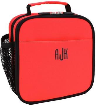 Pottery Barn Teen Gear-Up Neon Red Solid Recycled Lunch Box