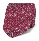 Turnbull & Asser 8cm Silk-jacquard Tie - Red