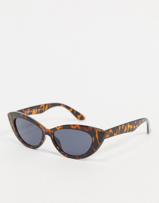 A. J. Morgan AJ Morgan Tasty cat eye sunglasses in tortoiseshell