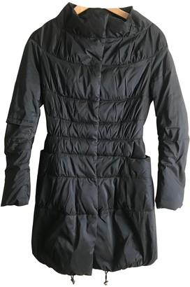 Ermanno Scervino Blue Coat for Women