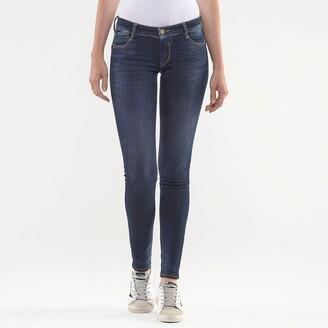 Le Temps Des Cerises Slim Fit Jeans with Jewel Detail