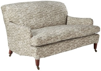 OKA Zhouzhuang Linen Loose Cover For Coleridge 2 Seater Sofa - Taupe