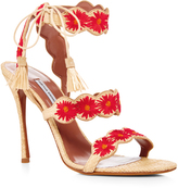 Tabitha Simmons Iris Floral Strapped Sandals