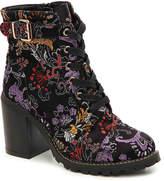 Diba Women's Carryn Bootie -Black/Multicolor