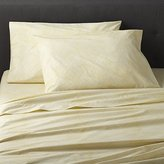 Crate & Barrel Torben Yellow Sheet Sets
