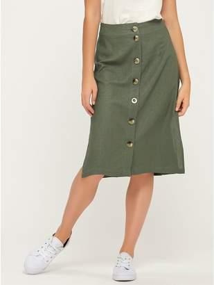 M&Co Vero Moda button front skirt