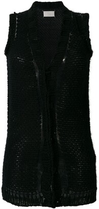 Maison Margiela Pre-Owned White Label knit waistcoat