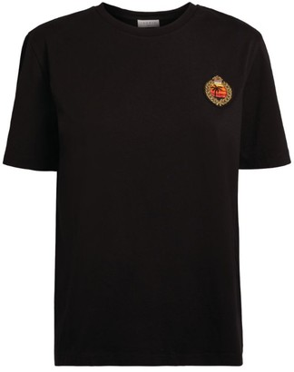 Sandro Paris Embroidered T-Shirt