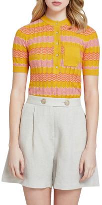 Oxford Lara Pointelle Cotton Knit