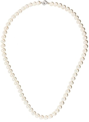 Yoko London 18kt white gold Classic Freshwater pearl necklace