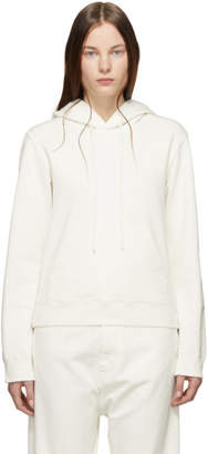 MM6 MAISON MARGIELA Off-White Cotton Hoodie