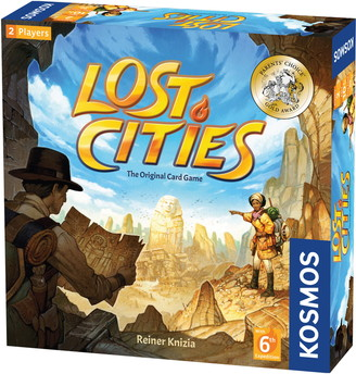 Thames & Kosmos Lost Cities: The Card Game