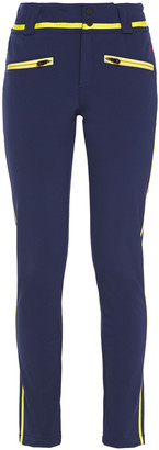 Perfect Moment Aurora Grosgrain-trimmed Skinny Ski Pants