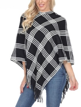 Dakota White Mark Women's Poncho