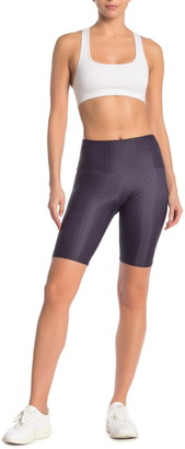 Onzie Printed High Rise Biker Shorts