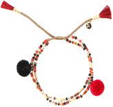 Jewelry Tai Beaded Pom Pom Bracelet