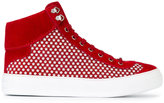 Jimmy Choo Argyle hi-top sneakers - men - Suede/Leather/rubber - 39