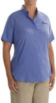 Columbia PFG Tamiami II Fishing Shirt - UPF 40, Short Sleeve (For Plus Size Women)