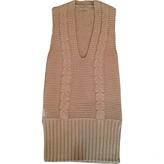 Prada Beige Wool Dress