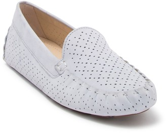 Cole Haan Evelyn Suede Perforated Driver