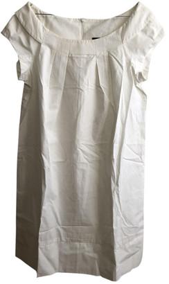 Tara Jarmon White Cotton Dresses