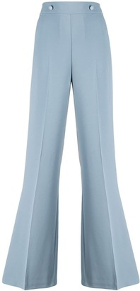 Pinko High Rise Wide Leg Trousers