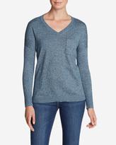 Eddie Bauer Women's Christine Pocket Pullover Sweater