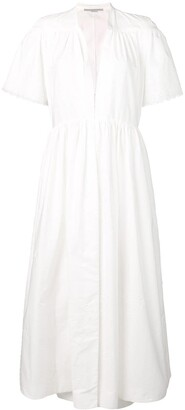 Stella McCartney Embroidered Flared Dress