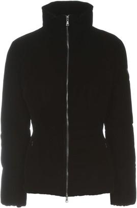 Emporio Armani Short Velvet Slim Fit Padded Jacket