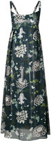 ADAM by Adam Lippes floral print maxi dress - women - Cotton/Polyester/Silk - S