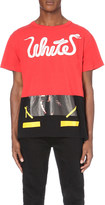 Off-White Patchwork cotton-jersey t-shirt