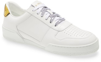 Versace Ilus Leather Sneaker