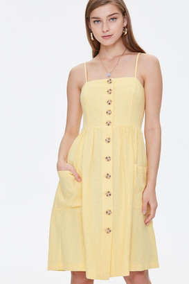 Forever 21 Button-Front Cami Dress