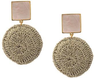 Lizzie Fortunato Woven Basket Earrings