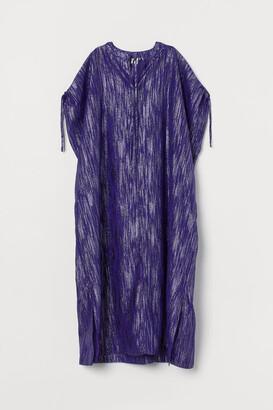 H&M Glittery Kaftan - Purple