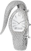 Just Cavalli Women's R7253153645 Poison Stainless Steel Triangular Second Hand Watch