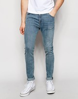 Weekday Form Super Skinny Jeans in Stretch Hyman Blue Light