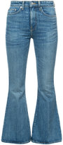 Brock Collection faded flared jeans