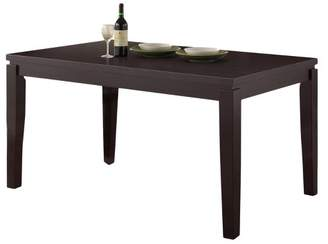 Home Source Christy Dining Table Espresso - Home Source Industries